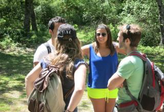 Language pracise hikes